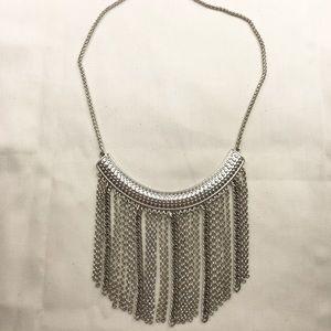 Lucky Brand silver chunky necklace